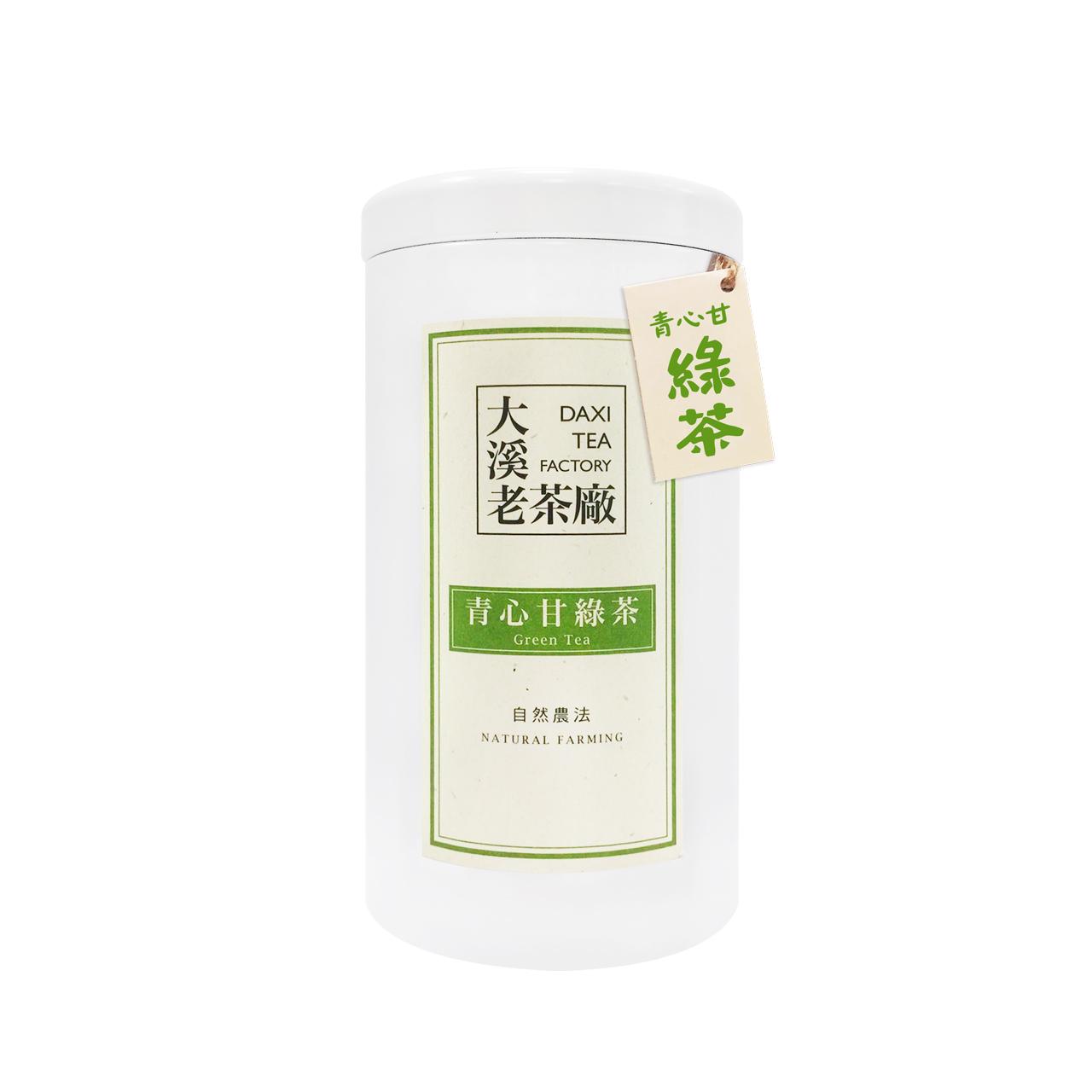 大溪-青心甘綠茶(自然農法)