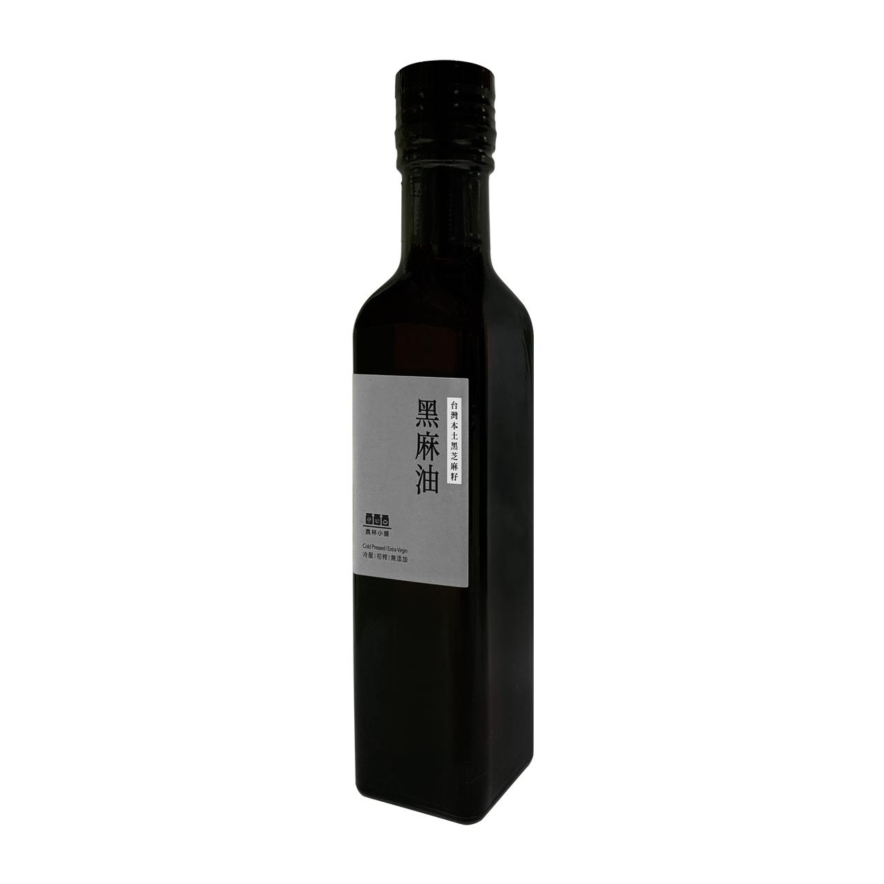 農林小舖-黑麻油250ml