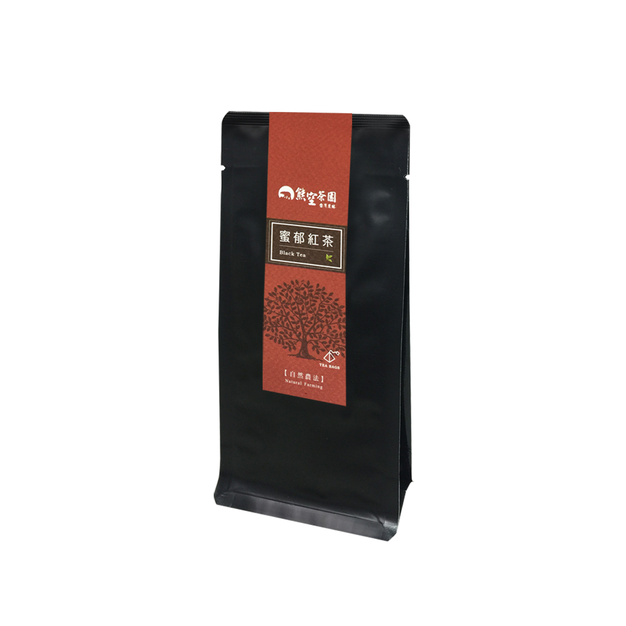 熊空-蜜郁紅茶立體茶包(自然農法)