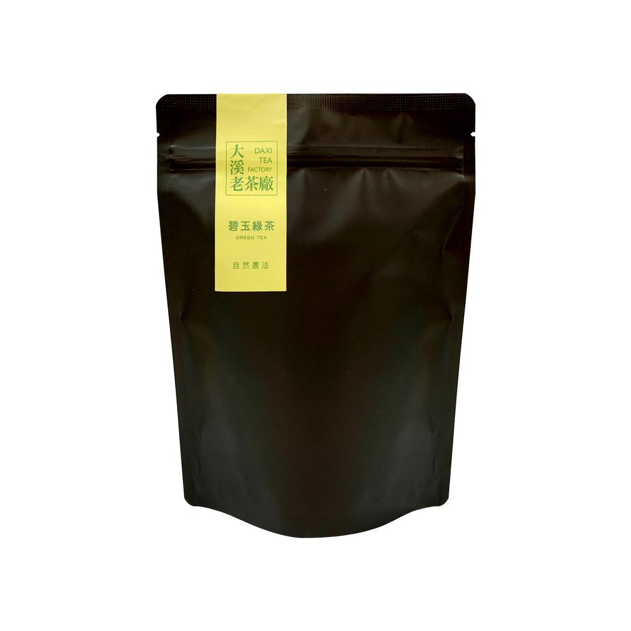 大溪-碧玉綠茶(自然農法‧手採)