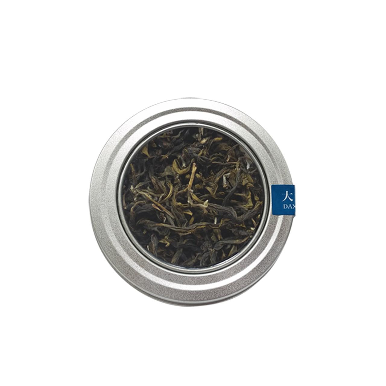 大溪-青心甘綠茶(自然農法-鐵餅盒)
