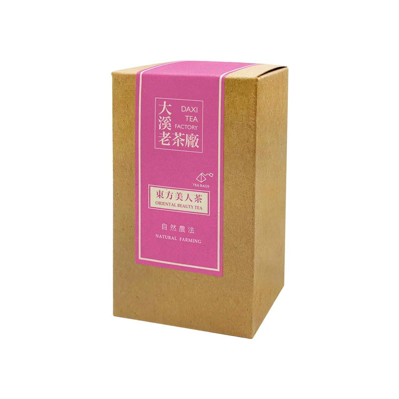 大溪-東方美人茶立體茶包(自然農法)